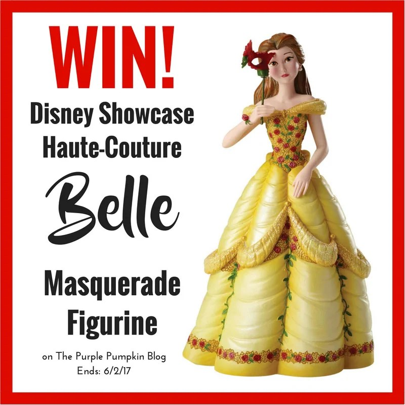 Win a Disney Showcase Haute-Couture Belle Masquerade Figurine