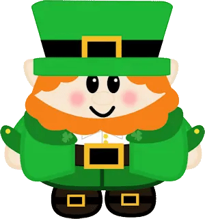 picture relating to Leprechaun Printable called Free of charge Printable Establish A Leprechaun Paper Doll