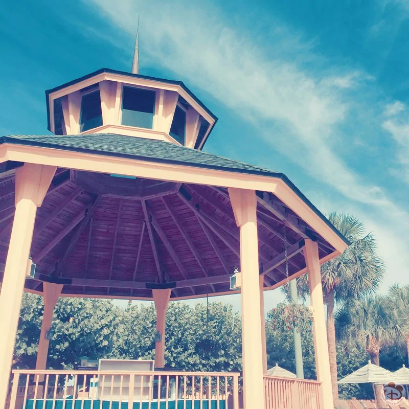 Gazebo at Disney's Vero Beach Pool