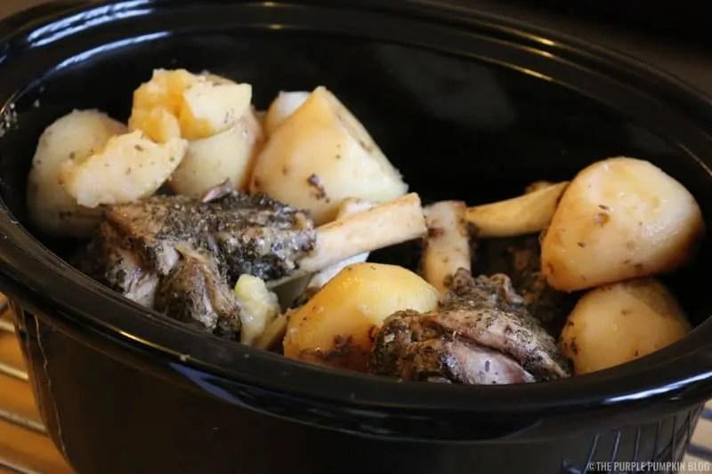 Kleftiko - Slow Cooked Lamb & Potatoes