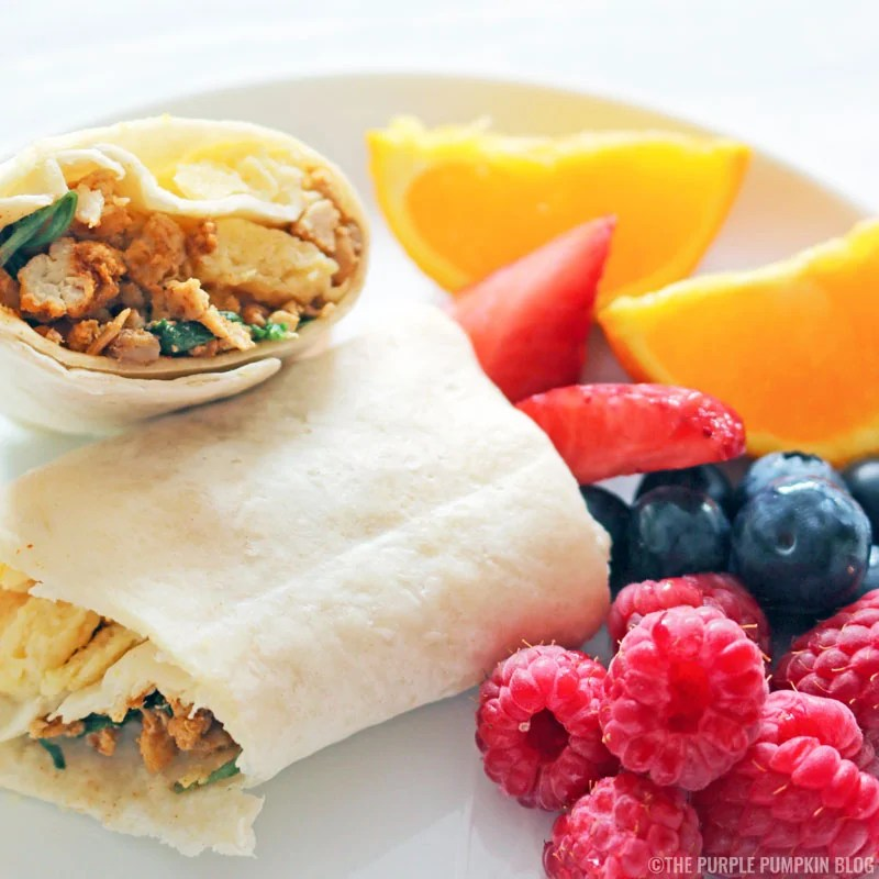 Make & Freeze Ahead Breakfast Burritos