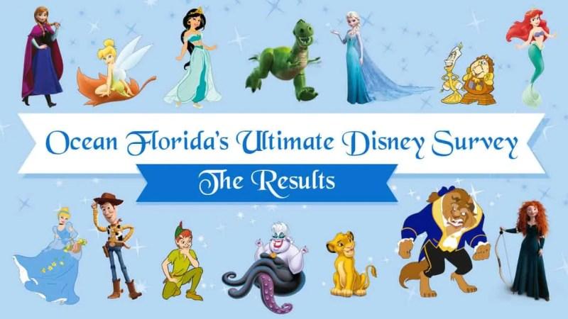 Ocean Florida Disney Survey - The Results