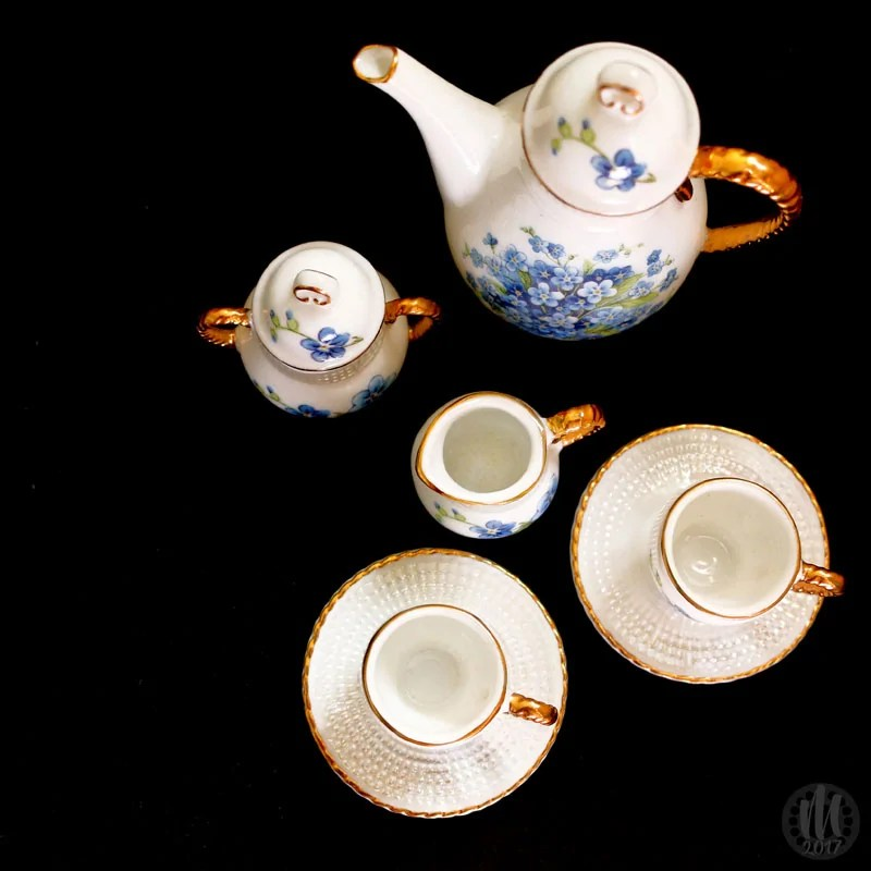 Project 365 - 2017 - Day 119 - Miniature Tea Set
