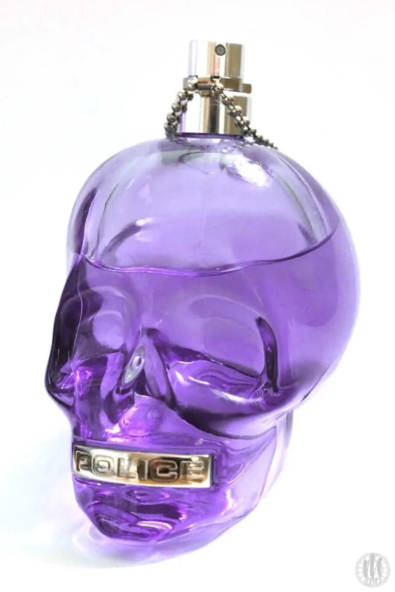 Project 365 - 2017 - Day 129 - Purple Glass Skull