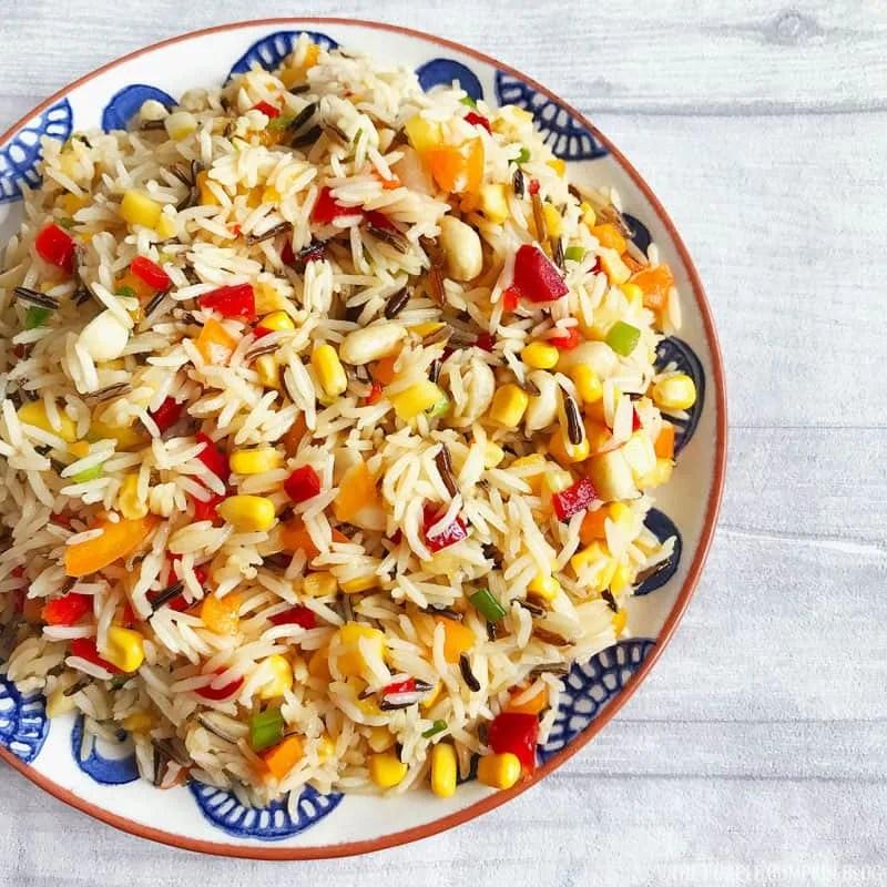 Tropical Rice Salad