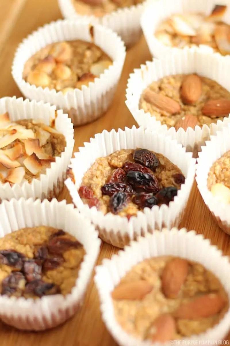 Breakfast Muffins - Banana Oat Muffins