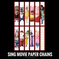 SING Movie Paper Chains