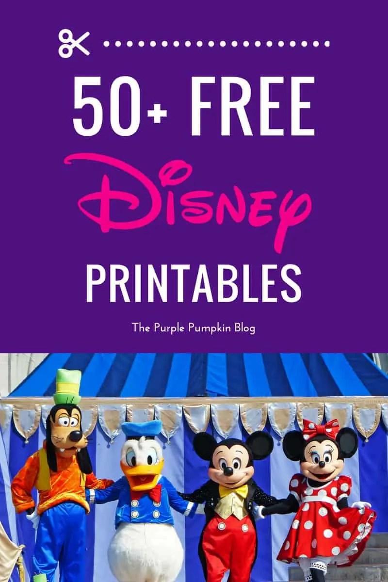 graphic regarding Free Printable Disney Tickets named No cost Disney Printables