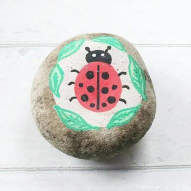 Ladybug Stone