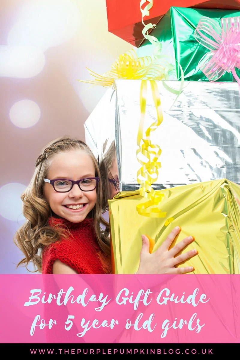 Birthday Gift Guide for 5 Year Old Girls! Although many of these gift ideas are suitable for boys too! If you're looking for inspiration on what to buy for the birthday girl, check this gift guide out!