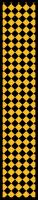 Paper Chains - Yellow Checks