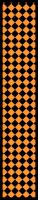 Paper Chains - Orange Checks