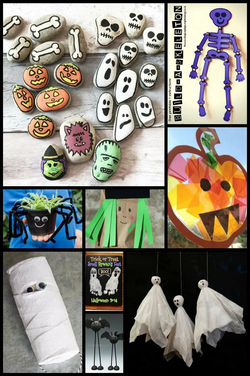 photo regarding Halloween Crafts for Kids+free Printable identified as 30+ Enjoyment Halloween Crafts For Youngsters