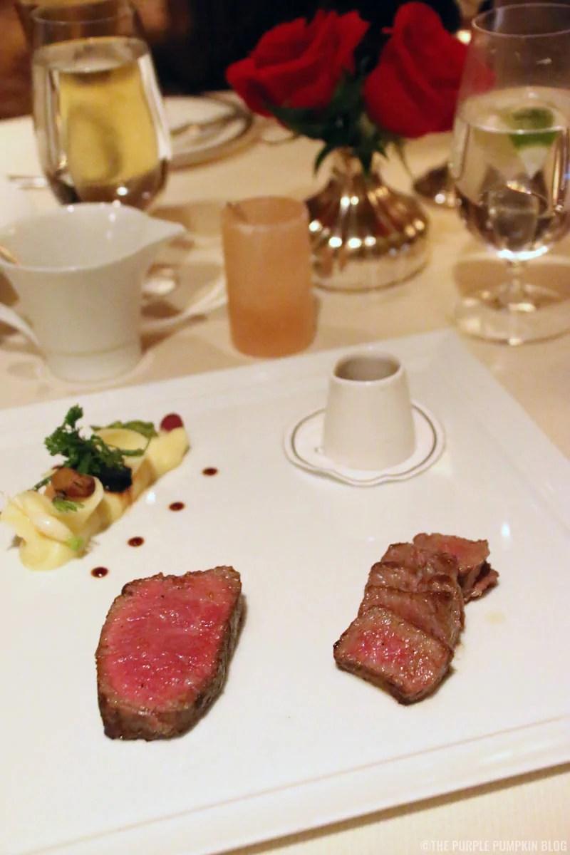 Australian Kobe-Style Beef with Roasted Garlic Potatoes