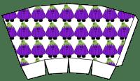 Cute Halloween Popcorn Boxes - Free Printables - purple pumpkin