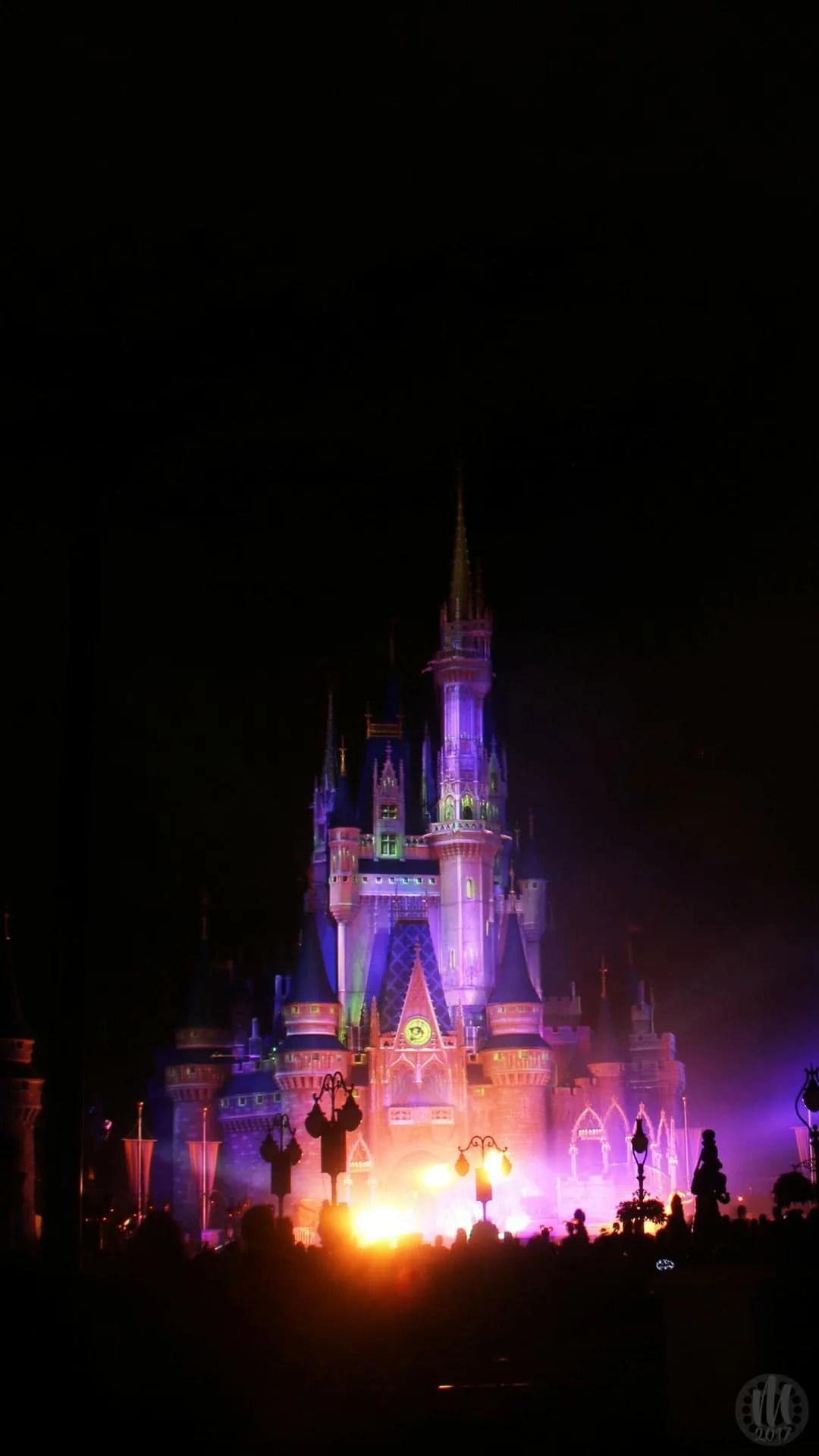 Disney Halloween iPhone Wallpapers - Cinderella Castle