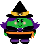 Cute Witch by The Purple Pumpkin Blog