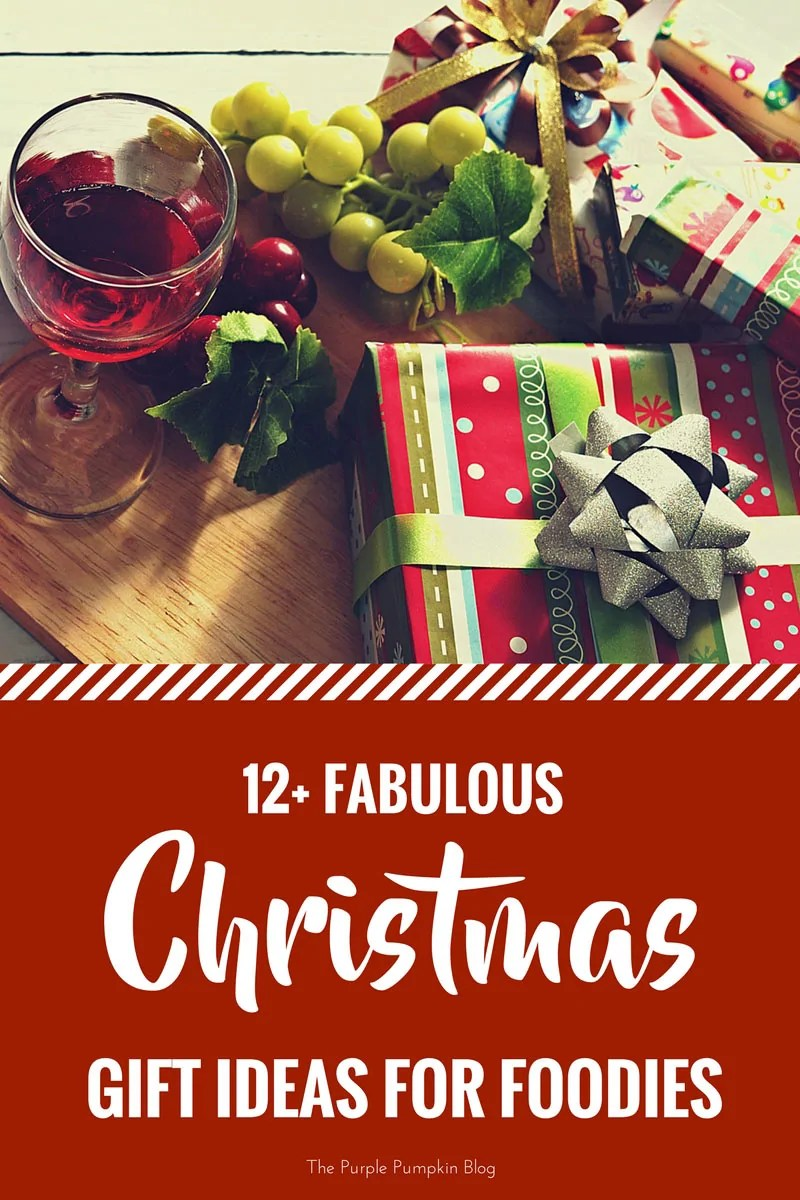12+ Fabulous Christmas Gift Ideas for Foodies! Do you know someone that LOVES food, but are stuck on what to buy them? Check out my foodie gift guide for lots of ideas and inspiration!
