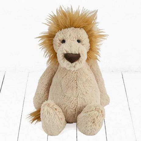 Bashful Lion Toy