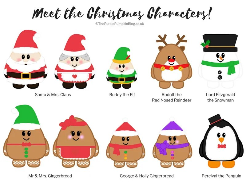 Meet the Christmas Characters