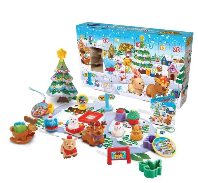Toot-Toot Animals Advent Calendar