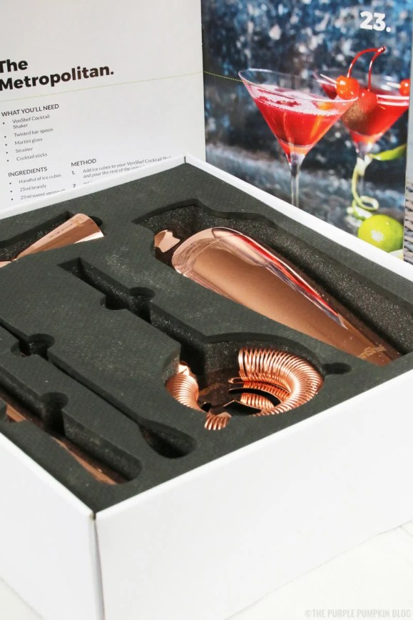 VonShef Parisian Cocktail Set