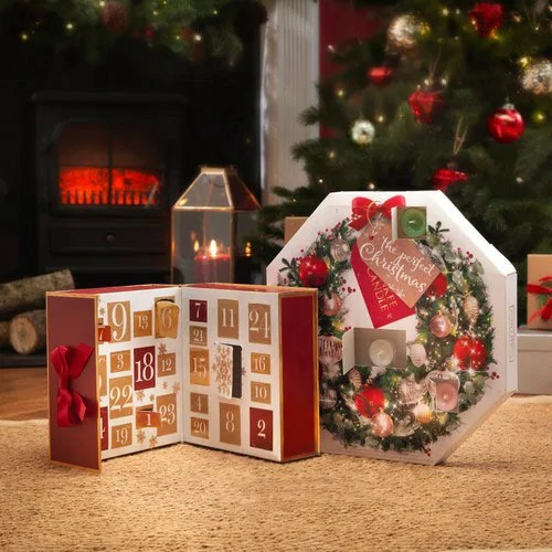 Yankee Candle Advent Wreath & Advent Book