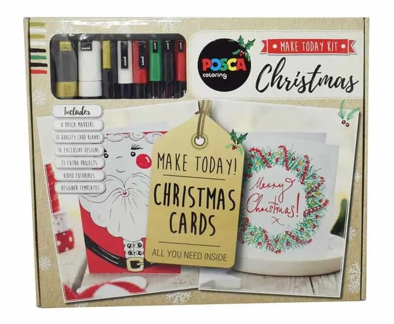 POSCA Pens Christmas Make Today Kit