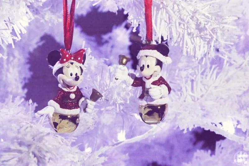 Project 365 - 2017 - Day 341 - Mickey & Minnie Ornaments