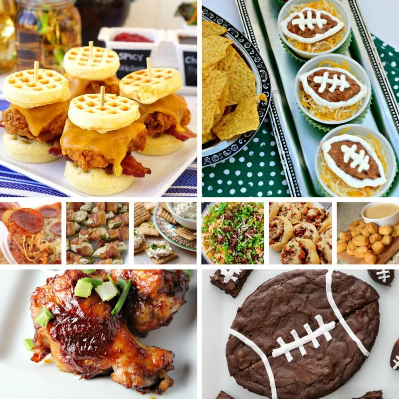 Apps & Desserts for Big Game Days