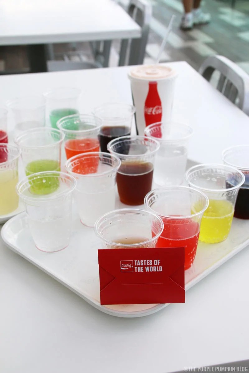 Disney Springs - Coca-Cola Shop Rooftop Beverage Bar - Tastes of the World