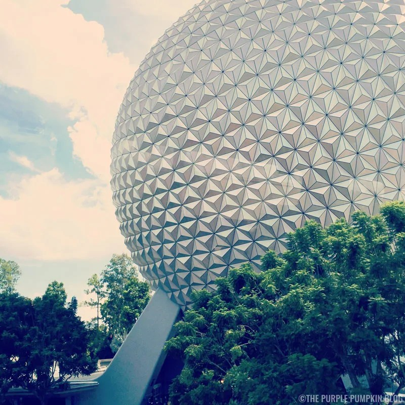Epcot - A View from the Monorail