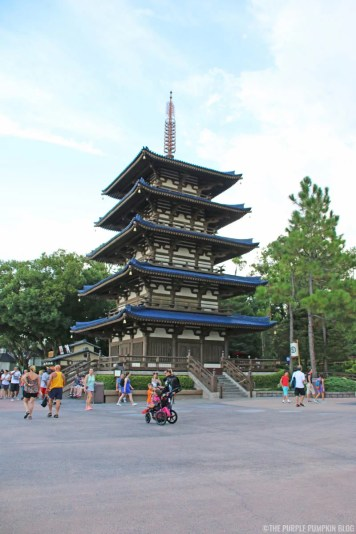 Japan Pavilion - Epcot World Showcase
