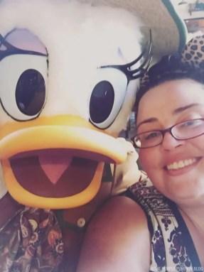 Tusker House - Me & Daisy Duck