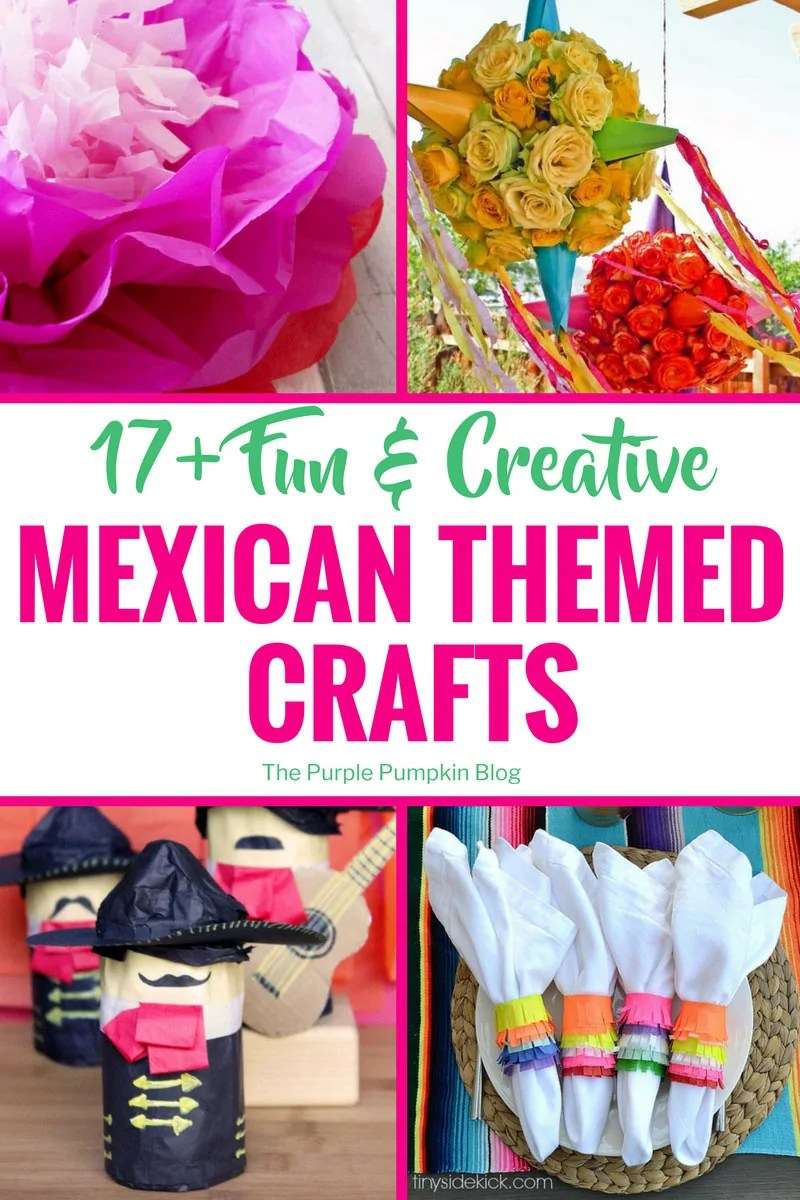 17 Fun Creative Mexican Crafts For Cinco De Mayo