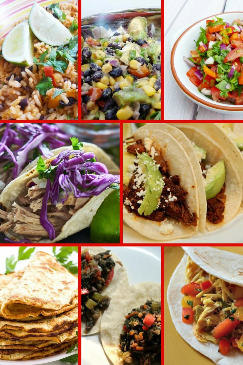 A huge selection of tempting Cinco de Mayo Recipes! Celebrate Cinco de Mayo with this delicious selection of Mexican and Tex-Mex recipes. You'll find all your favourites here from tacos to tostadas, and from mole to margaritas! Plus yummy desserts and drinks! These delicious recipes will make sure your fiesta goes off with a bang!