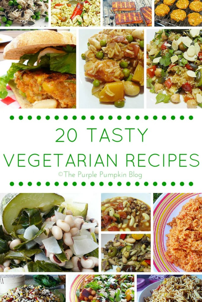 20 Vegetarian Recipes