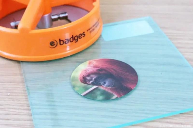eBadges Circle Cutter - cut out design