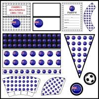 Australia: Football Party Printable Set
