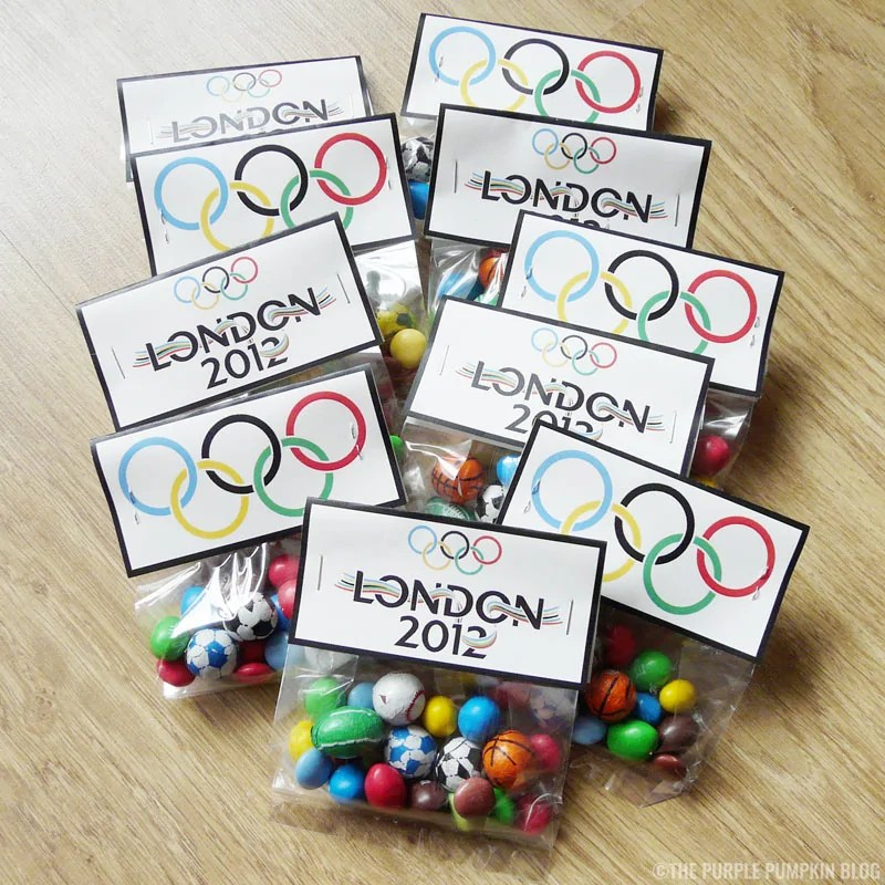 Olympics Party Favors