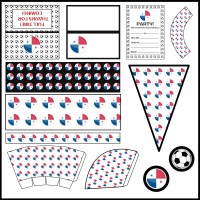 Panama: Football Party Printable Set