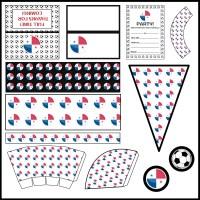 Panama: Football Party Printable Set