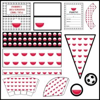 Poland: Football Party Printable Set