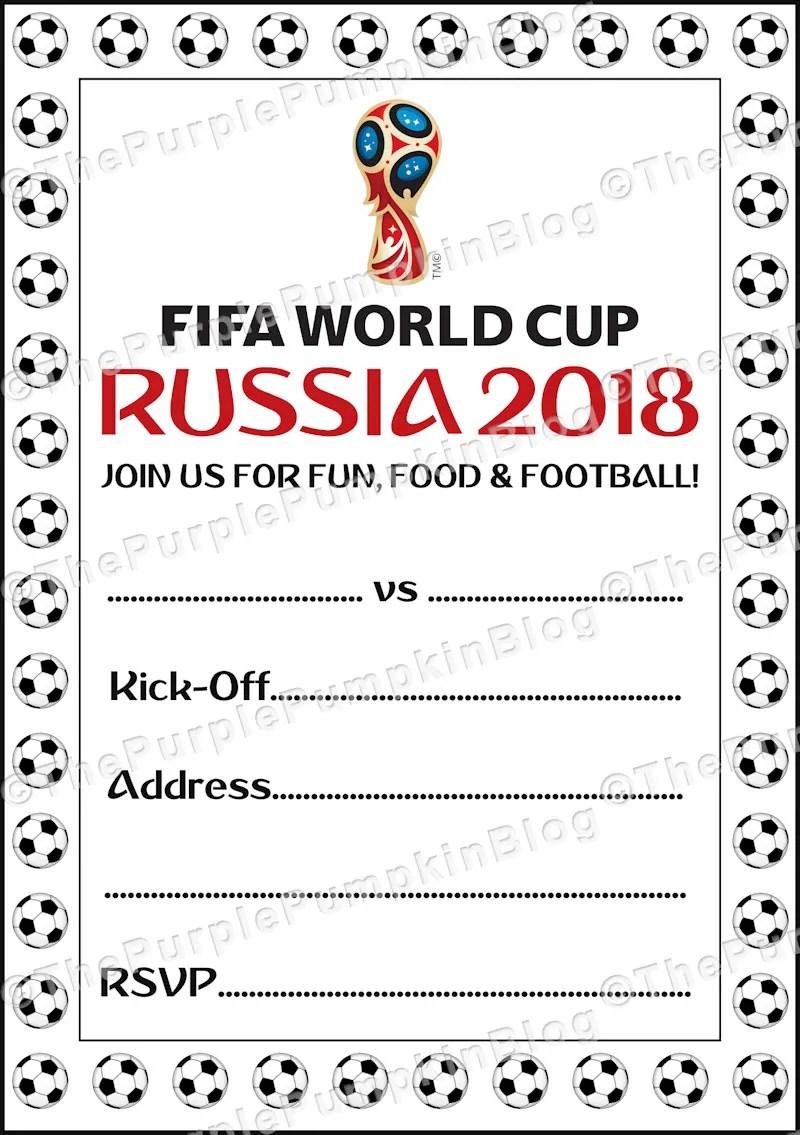 World Cup Match Invite