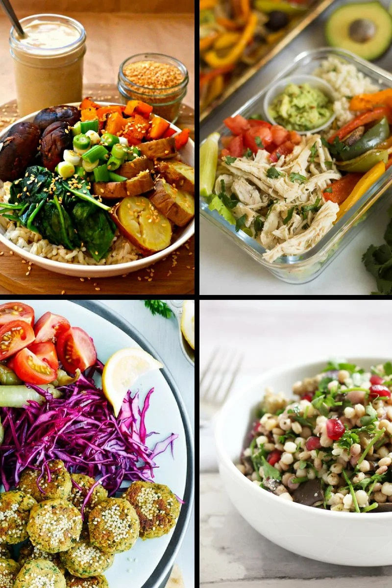 Do you find yourself having the same food for lunch, day in, day out? Stuck for ideas of what to prepare for packed lunches for work? You've hit the right page on the internet because here are 17+ Bowl Foods that are perfect for packed lunches!