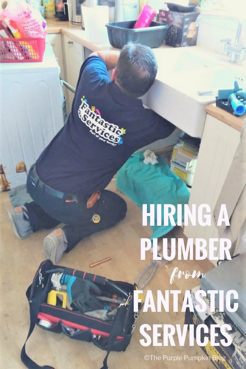 Hiring a Plumber from Fantastic Services