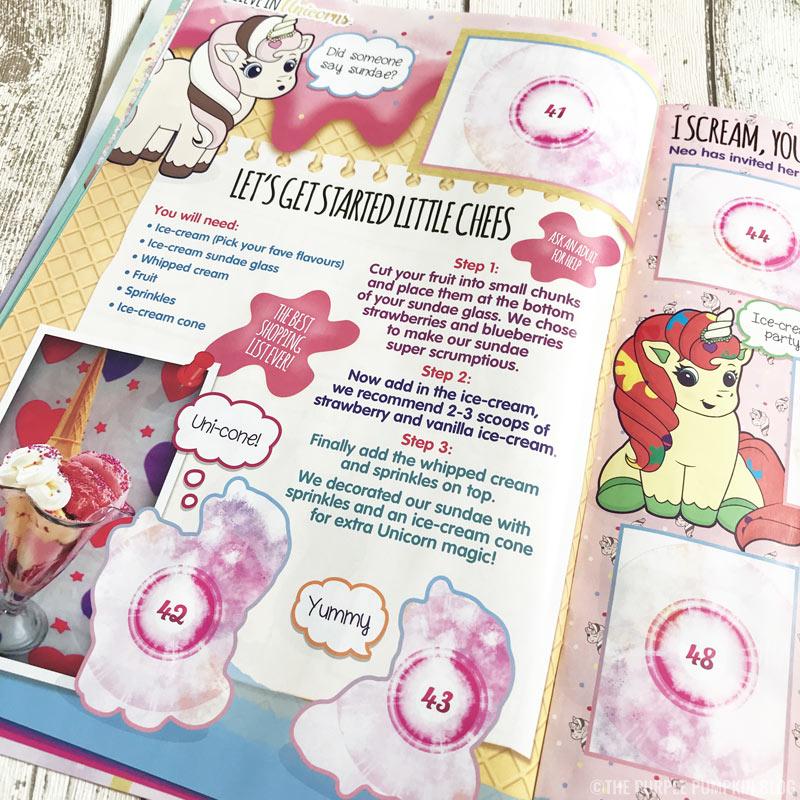 Topps - I Believe In Unicorns Sticker Book & Stickers