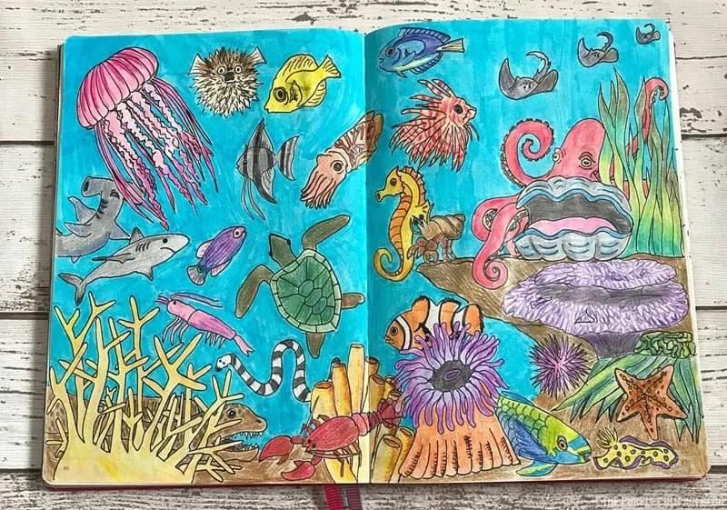 Under The Sea Challenge