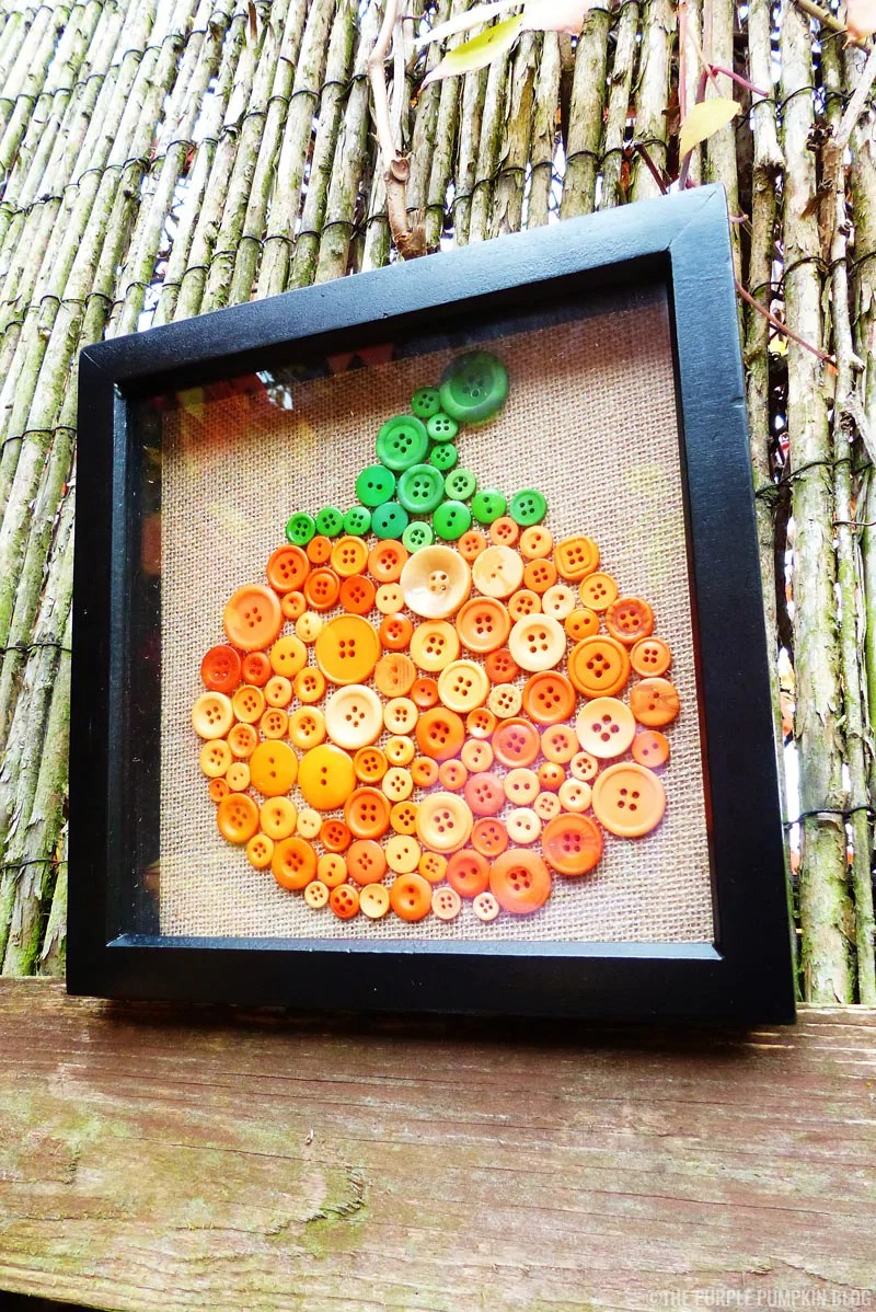 Pumpkin Button Art