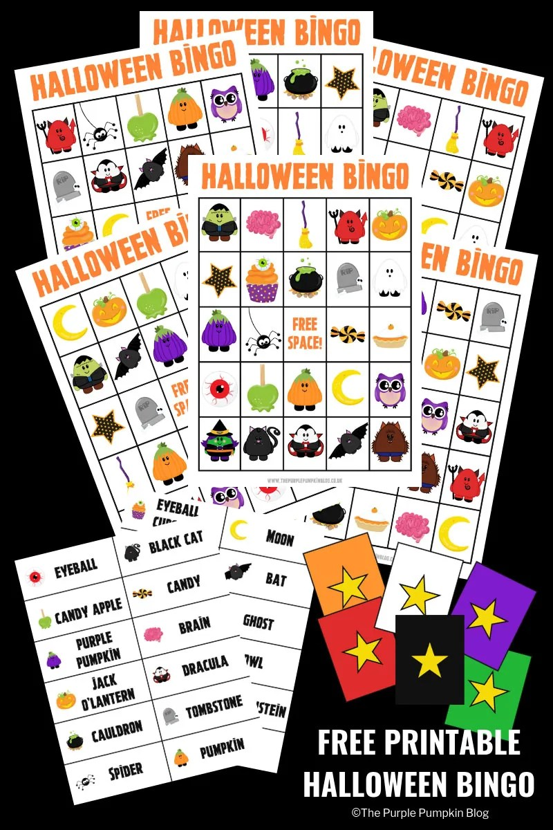 picture about Printable Halloween Bingo named Enjoyable No cost Printable Halloween Bingo Sport!
